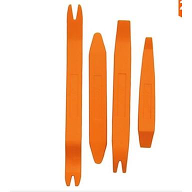 Недорогие Ремонтные инструменты-iztoss 4шт наборы инструментов автоматической двери клип панель удаление отделка для автомобиля тире радио аудио инструмент Установщик