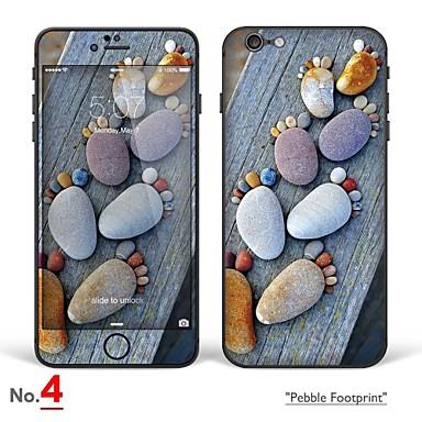 voordelige iPhone screenprotectors-1 stuks Volledige behuizing screenprotector voor Cartoon iPhone 6s Plus/6 Plus