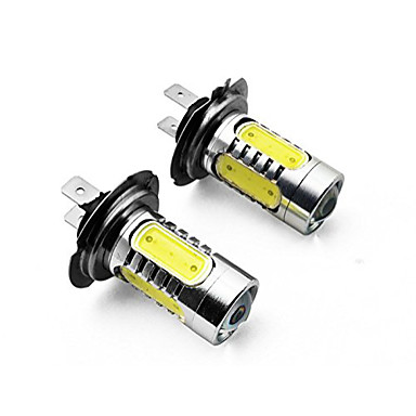 Недорогие Автомобильные фары-2pcs H7 / H4 / 1156 Автомобиль Лампы 7.5 W SMD LED / COB 700 lm Задний свет Назначение Универсальный