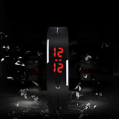 رخيصةأون ساعات الرجال-رجالي ساعة رياضية رقمي سيليكون متعدد الألوان شاشة لمس LED رقمي سحر موضة - أخضر زهري أزرق فاتح سنة واحدة عمر البطارية / SODA AG4