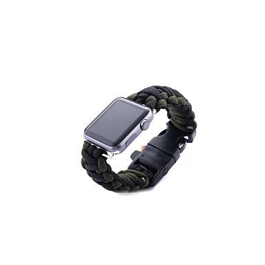 Недорогие Аксессуары для смарт-часов-Ремешок для часов для Серия Apple Watch 5/4/3/2/1 Apple Современная застежка Материал Повязка на запястье