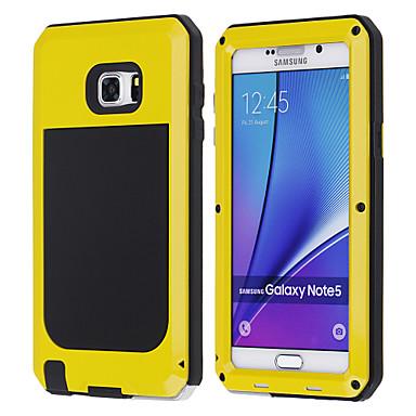 رخيصةأون إكسسوارات سامسونج-غطاء من أجل Samsung Galaxy Note 5 ضد الصدمات غطاء كامل للجسم درع معدن