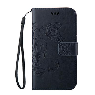 povoljno Maske za mobitele-Θήκη Za Samsung Galaxy S8 Plus / S8 / S7 edge plus Novčanik / Utor za kartice / sa stalkom Korice Rukav leptir Mekano PU koža