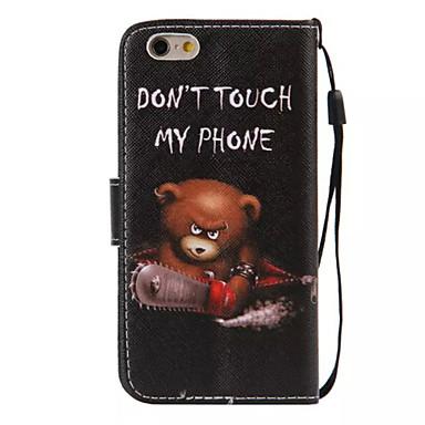 5dcbd931f17 Funda Para Apple iPhone 6 Plus / iPhone 6 Cartera / Soporte de Coche / con Soporte  Funda de Cuerpo Entero Palabra / Frase Dura Cuero de PU para iPhone 6s ...