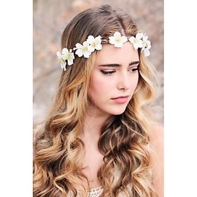 Bridal Flower Wreath Woodland Halo Wedding Crown Head Piece Rustic Hair Band Headband 4901002 2018 1099