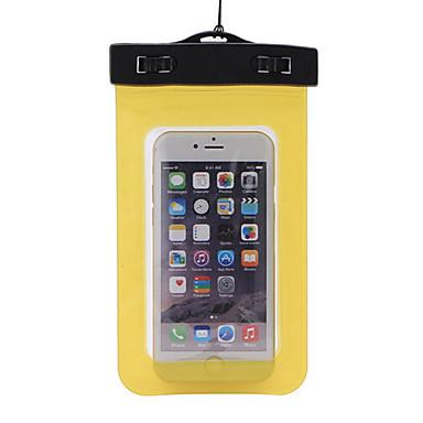 olcso Szörfözés-Száraz dobozok Száraz tasakok Mobiltelefon Vízálló Búvárkodás és felszíni búvárkodás PVC Fekete Sárga Zöld Kék Bíbor