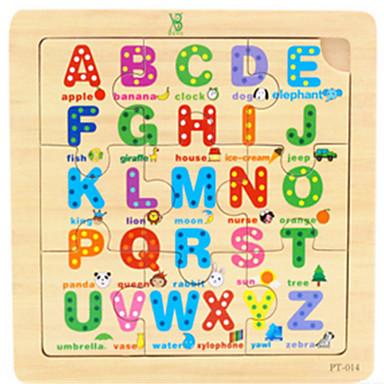 olcso Math játékok-Fejtörő Fejlesztő játék Fa Rajzfilmfigura Gyermek Játékok Ajándék