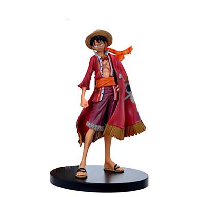 17 99 Action Figure Monkey D Luffy Pvc Polyvinyl Chloride 1 Pcs Cartoon Men S Toy Gift
