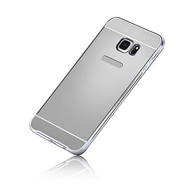 Недорогие Чехлы и кейсы для Galaxy S3-Кейс для Назначение SSamsung Galaxy S7 edge / S7 / S6 edge plus Покрытие Кейс на заднюю панель Однотонный ПК