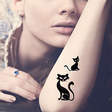 tatouages autocollants s ries animales dessins anim s dessin anim homme femme adulte adolescent. Black Bedroom Furniture Sets. Home Design Ideas
