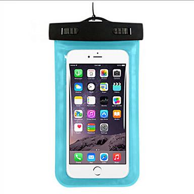 olcso Szörfözés-Száraz tasakok Száraz dobozok Vízálló Mobiltelefon Búvárkodás és felszíni búvárkodás PVC Zöld Kék Bíbor Fekete Fehér Sárga