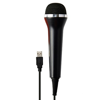 olcso Xbox 360 tartozékok-Vezetékes Microfon Kompatibilitás Xbox 360 / PS4 / Wii ,  Microfon Fém / ABS 1 pcs egység