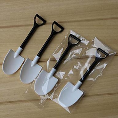olcso Drinking Tools-100db eldobható fagylalt kanál lapát lapát egyedi csomagolva