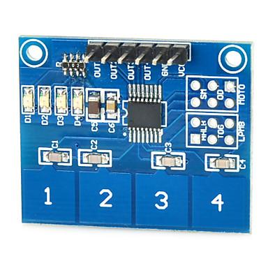 switch Capteur Tactile Capacitif 4 voies TTP224 Pi DIY Arduino bouton