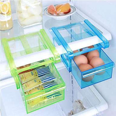 olcso Konyhai tárolás-diy konyha hűtőszekrény helytakarékos szervező diát a polc állvány tartó tárolás