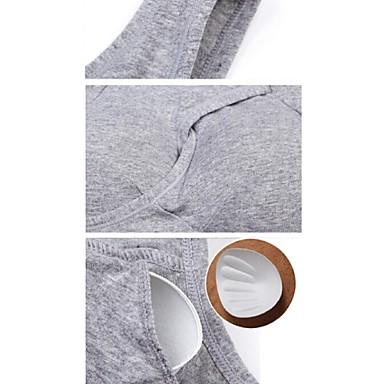 olcso Underwear & Base rétegek-Alapréteg Felsők Női Vízálló Légáteresztő Anti-Shake mert Futás Fitnessz Klasszikus Sexy Divat Tavasz Nyár Ősz / Gyors szárítás / Korlátozza a baktériumokat / Tél / Gyors szárítás
