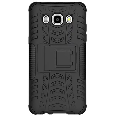 hoesje Voor Samsung Galaxy J7 / J5 (2016) Schokbestendig Achterkant Schild PC