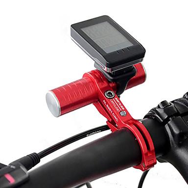 olcso Tartók-Telefon tartó Állítható Forgatható Univerzalno mert Treking bicikli Mountain bike Alumínium ötvözet iPhone X iPhone XS iPhone XR Kerékpározás Ezüst Piros Kék 1 pcs