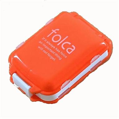 ieftine Urgență & Supraviețuire-pastila de caz Dimensiune Compactă Plastic Drumeție