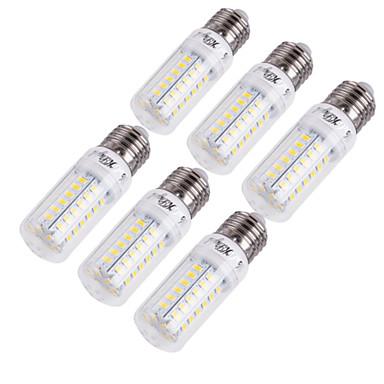 olcso Akciók-YouOKLight 6db 15 W LED kukorica izzók 1350 lm E14 E26 / E27 T 56 LED gyöngyök SMD 5730 Dekoratív Meleg fehér Hideg fehér 220-240 V 110-130 V / 6 db. / RoHs