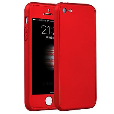voordelige iPhone 5 hoesjes-hoesje Voor iPhone 5 / Apple iPhone 8 Plus / iPhone 8 / iPhone SE / 5s Schokbestendig Achterkant Schild Hard PC