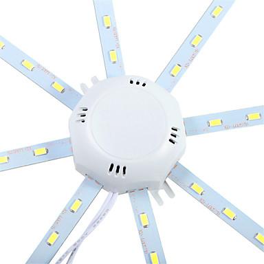 olcso Beltéri lámpák-YWXLIGHT® 1db 10 W 960 lm 24 LED gyöngyök SMD 5730 Dekoratív Hideg fehér 220-240 V / 1 db. / RoHs