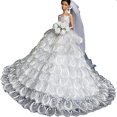 Wedding Dresses For Barbie Doll Girls Toy 2630833 2017 1599