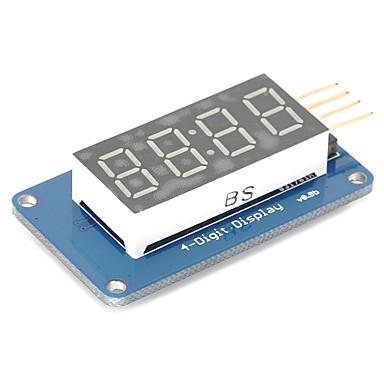 olcso Kijelzők-4 bit digitális cső LED kijelző modul órakijelzőjének tm1637 az Arduino Raspberry Pi