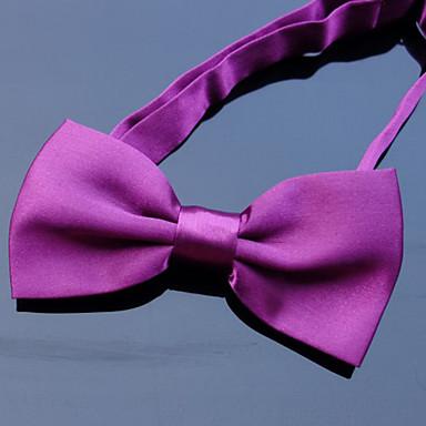 رخيصةأون ربطات العقدة-ببيونة لون سادة رجالي حفلة / أساسي