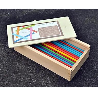 olcso puzzle játékok-Puzzle Játék Ajándék Építőkockák Építő játékok Fa Sárga Játékok