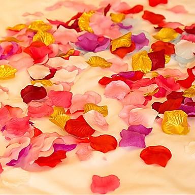 olcso Otthon dekoráció-Virágszirom Szatén Esküvői dekoráció Esküvő / Születésnap / Eljegyzés Kerti témák / Ázsiai téma / Virágos téma Tavasz / Nyár / Ősz