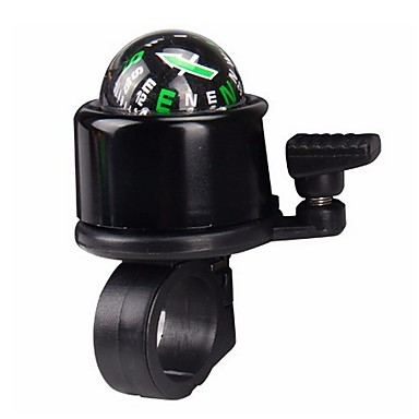 3 Colors Alloy Plasitc Bicycle Safety Bike Ring Alarm Handlebar Bell Compass