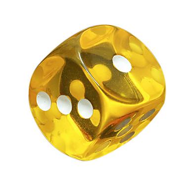 olcso Dice és Chips-Dobókocka Kockák és Chips Professzionális Gyanta ABS 10 pcs Felnőttek Férfi Női Fiú Játékok Ajándék