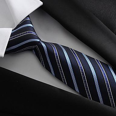 رخيصةأون ربطات العقدة-ربطة العنق بوليستر, حفلة / عمل / أساسي للرجال / أزرق