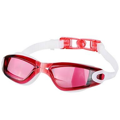 olcso Úszószemüvegek-Úszás Goggles Vízálló Páramentesítő Törhetetlen Tükrözött Ipari gyanta PC Piros Fekete Kék N / A