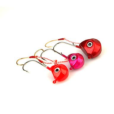 olcso Horgok-Halászat-1 db Különböző színekben Fém-Brand NewTengeri halászat / Sodort / Pergető horgászat / Folyóvíz horgászat / Pisztrángsügér