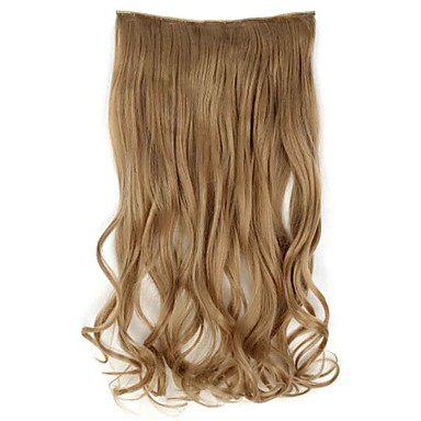 شعر إنساني إمتداد مموج كلاسيكي شعر مستعار صناعي وصلات شعر طبيعي نسائي بلاتين أشقر