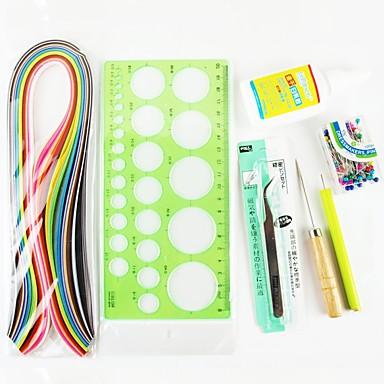 olcso Gyermek kézműves készletek-120 pcs Papír Iroda / Karrier Papír kézműves