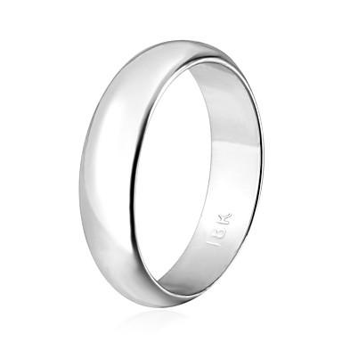 Pentru femei Inele Cuplu Band Ring Inel de declarație Negru Auriu Argintiu Placat Auriu 18K de aur umplut femei Modă Nuntă Petrecere Bijuterii chunky Prietenie