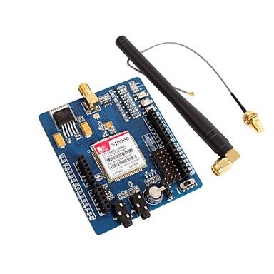 44 17 Cuatribanda Gsm Gprs Sim900 Módulo De Placa De Desarrollo Gboard Integrado En La Placa De Aprendizaje Para Arduino