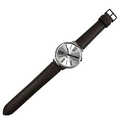 preiswerte Uhrenarmbänder für Huawei-Uhrenarmband für Huawei Watch Huawei Klassische Schnalle / Lederschlaufe Leder Handschlaufe