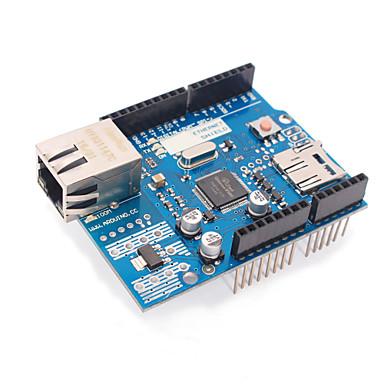 olcso Alaplapok-továbbfejlesztett változata ethernet W5100 r3 pajzs a hálózati kártya támogatja uno / mega2560