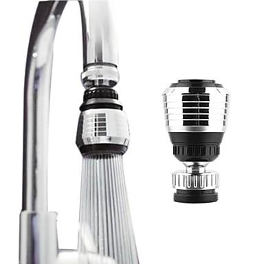 olcso LED csapvilágítás-360 forgó konyhai csaptelep fúvóka adapter fürdőszoba csaptelep tartozékok szűrő tip víztakarékos eszköz