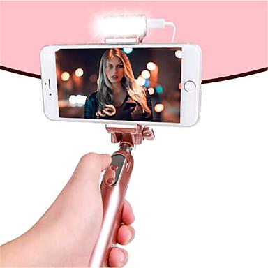 olcso Bluetooth szelfi bot-Vezetékes szelfi Stick A A Cable / A Selfie Stick mert Android / iOS