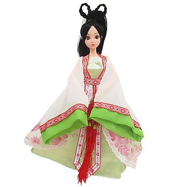 olcso Vicces kütyük-Baba ruházat Lány Doll Cuki Újdonságok Jelmez Szoknya Műanyag Kínai stílus Lány Játékok Ajándék