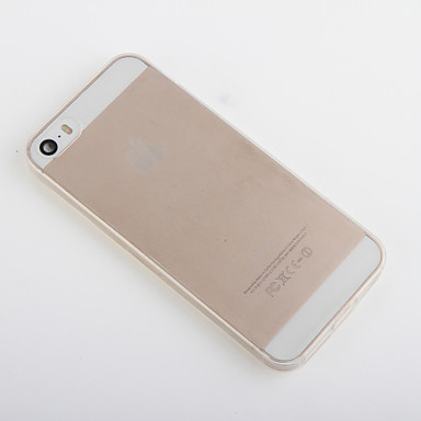Maska Pentru iPhone 5 / Apple iPhone XS / iPhone XR / Carcasă iPhone 5 Transparent Capac Spate Mată Moale TPU pentru iPhone XS / iPhone XR / iPhone XS Max