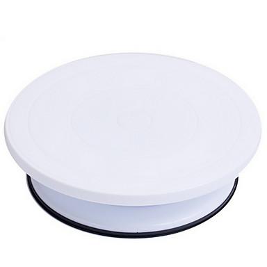 رخيصةأون أدوات الفرن-1PC بلاستيك خبز كعكة فطيرة صينية أدوات خبز