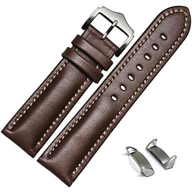 Недорогие Часы для Samsung-Ремешок для часов для Gear S2 Samsung Galaxy Спортивный ремешок / Классическая застежка / Кожаный ремешок Кожа Повязка на запястье