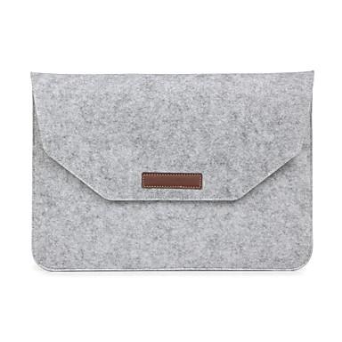 olcso MacBook védőburkok, védőhuzatok, táskák-Ujjak boríték Case Egyszínű Textil mert MacBook Pro 15 hüvelyk / MacBook Air 13 hüvelyk / MacBook Pro 13 hüvelyk