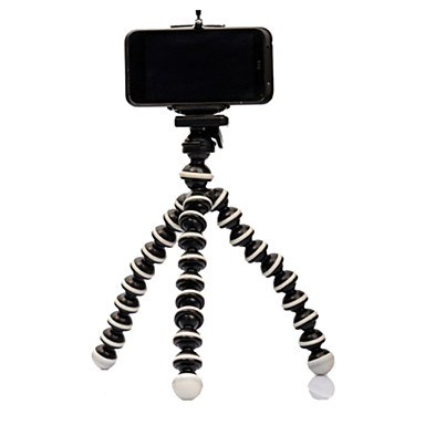 cheap Phone Holder-Mini Tripod Bracket Portable Flexible Mobile Phone Holder Smartphone Tripods Foldable Desktop Stand For iPhone Samsung Huawei Xiaomi